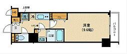 フェニックス新横濱参番館[308号室]の間取り