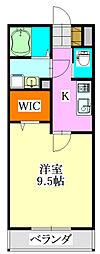 千葉県船橋市前原東5の賃貸アパートの間取り