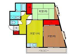 関根ビル[3階]の間取り