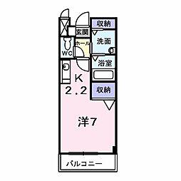 グレイスフル[0203号室]の間取り