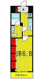 Log浅草[5階]の間取り