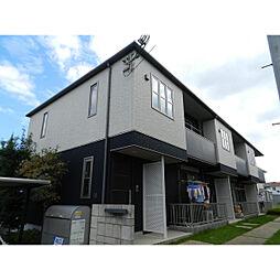 滋賀県近江八幡市白鳥町の賃貸アパートの外観