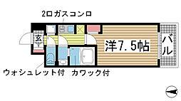 サムティ神戸BENIR[404号室]の間取り