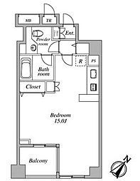 セントラルクリブ六本木I[3階]の間取り