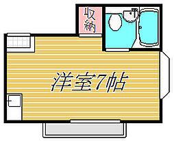 東京都江東区大島8丁目の賃貸アパートの間取り