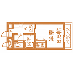 愛知県名古屋市天白区植田西3丁目の賃貸マンションの間取り