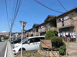 埼玉県上尾市錦町の賃貸アパートの外観