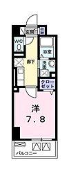 東京都国立市東3丁目の賃貸マンションの間取り