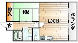 レジデンス別院[3階]の間取り