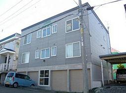 北海道札幌市北区篠路六条6丁目の賃貸アパートの外観