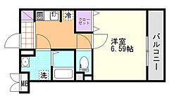 (仮)D-Room東高砂[205号室]の間取り