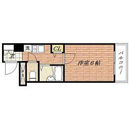 ピュアメゾン[3階]の間取り