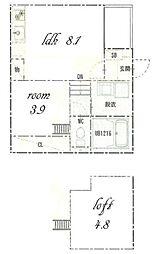 cerejeira[2階]の間取り