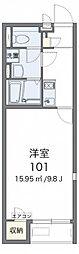 レオネクストKAZUMI[1階]の間取り