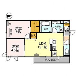 レオンガーデン 〜leon Garden〜[3O1号室号室]の間取り