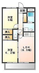 IHARAマンション[1階]の間取り