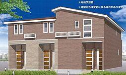 長野県上田市中之条の賃貸アパートの外観