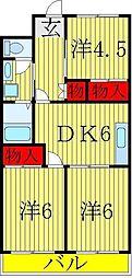染谷ビル[5階]の間取り