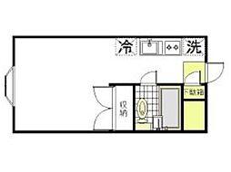 ハイツライラック[3階]の間取り