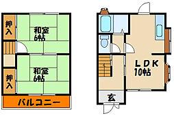 [一戸建] 兵庫県明石市東野町 の賃貸【/】の間取り