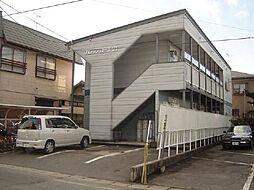 山形県山形市松原の賃貸アパートの外観