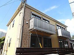 千葉県千葉市美浜区稲毛海岸4丁目の賃貸アパートの外観