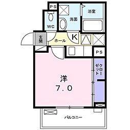 仮)特注アパート谷中3丁目[3階]の間取り