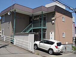 北海道小樽市入船5丁目の賃貸アパートの外観