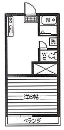 フレグランス[2階]の間取り