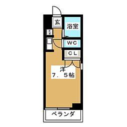 新栄ロイヤルビル[2階]の間取り