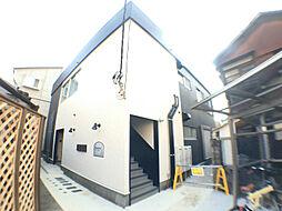 千葉県柏市中央町の賃貸アパートの外観