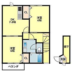福地駅 4.9万円