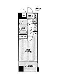 サンテミリオン白山[7階]の間取り