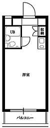東京都杉並区南荻窪3の賃貸マンションの間取り