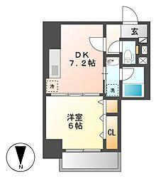 笹島アイサンメゾン[4階]の間取り