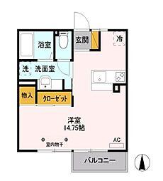 セジュール ソフィア[2階]の間取り