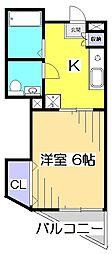 スラクストンパートII[3階]の間取り