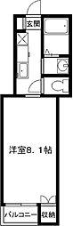 ピカピカ新築、マメゾンN[2階]の間取り