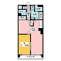 パークビュースーデン[2階]の間取り