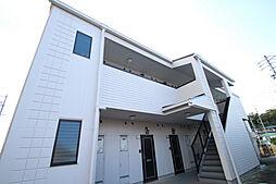 愛知県日進市竹の山5丁目の賃貸アパートの外観