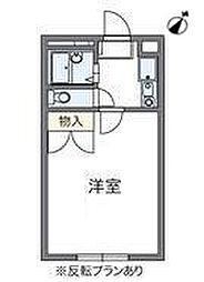 コンフォート新検見川[3階]の間取り