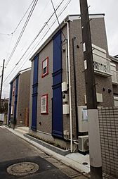 東京都大田区久が原4丁目の賃貸アパートの外観