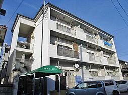 大阪府枚方市牧野本町2丁目の賃貸マンションの外観