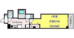 ミミハウス船橋[2階]の間取り
