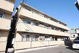 埼玉県越谷市越ケ谷本町の賃貸アパートの外観