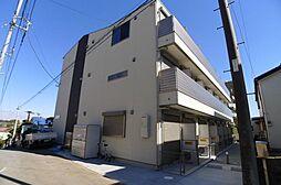 千葉県柏市あけぼの5丁目の賃貸アパートの外観