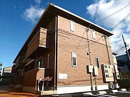 大阪府藤井寺市御舟町の賃貸アパートの外観