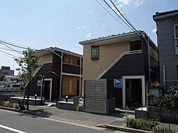 東京都江戸川区西瑞江3の賃貸アパートの外観
