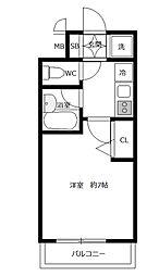 スパシエ八王子クレストタワー[810号室]の間取り
