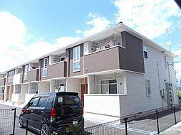 長野県上田市中丸子の賃貸アパートの外観